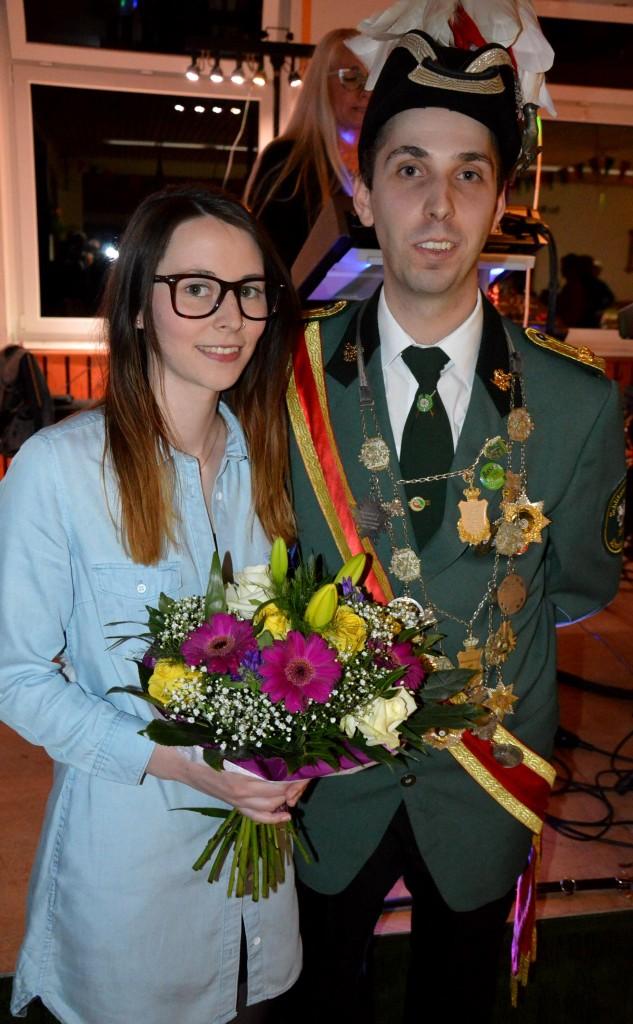 Königspaar Altenheerse 2016