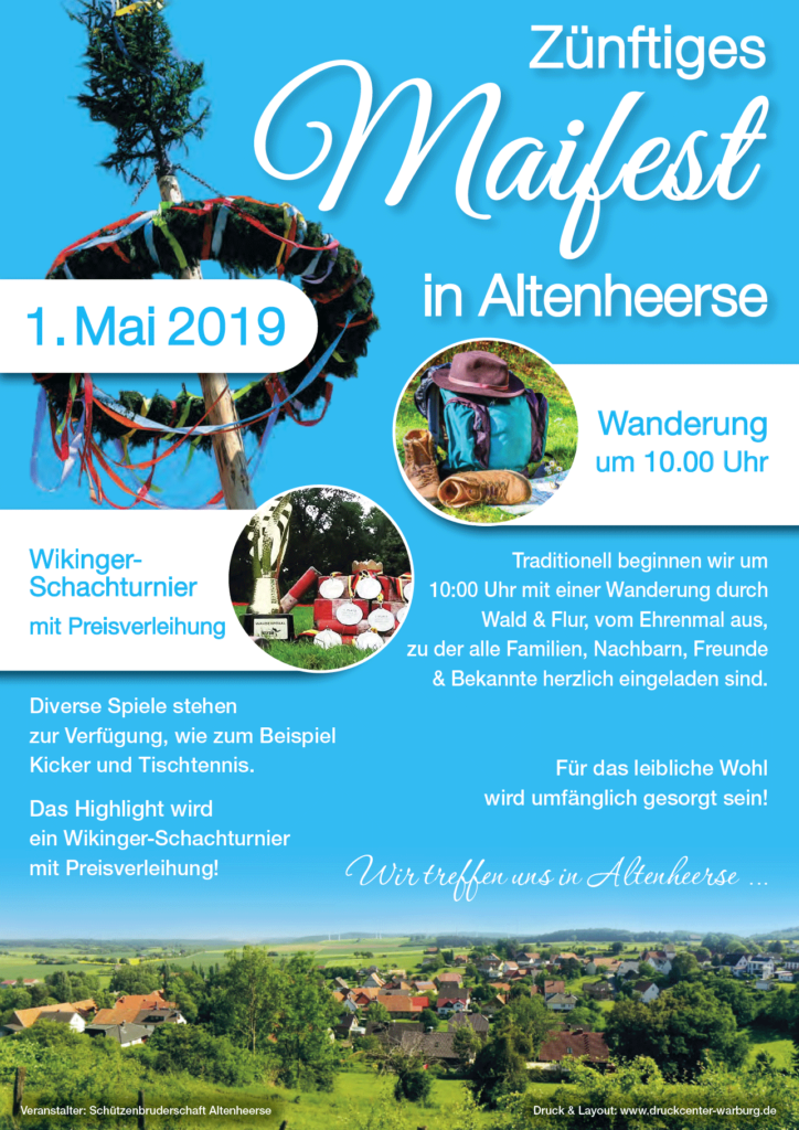 Maiwanderung 2019 in Altenheerse