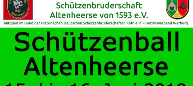 Schützenball 2019 in Altenheerse